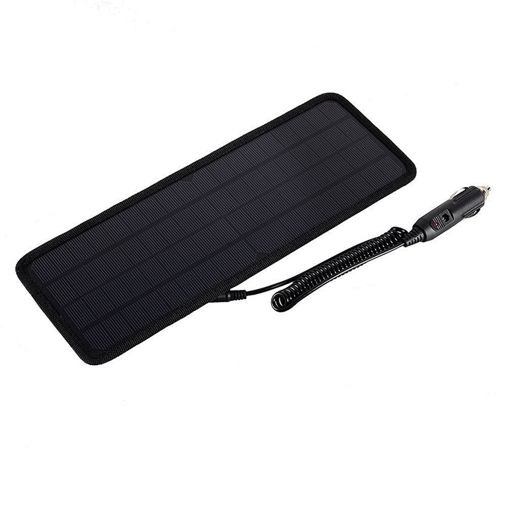 Car Solar Battery Charger, Findway Portable 12V Car Solar Panels Charger with Cigarette Lighter Plug