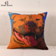 China Manufacturer Picasso Silk Cushion Cover