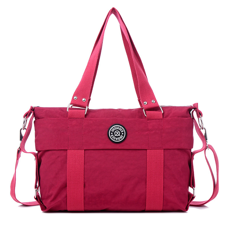 Fashion Waterproof Nylon Casual Travel lightweight Shoulder Bag Crossbody  Bag Handbag Purse For Women and Girls 69160c94ccf46
