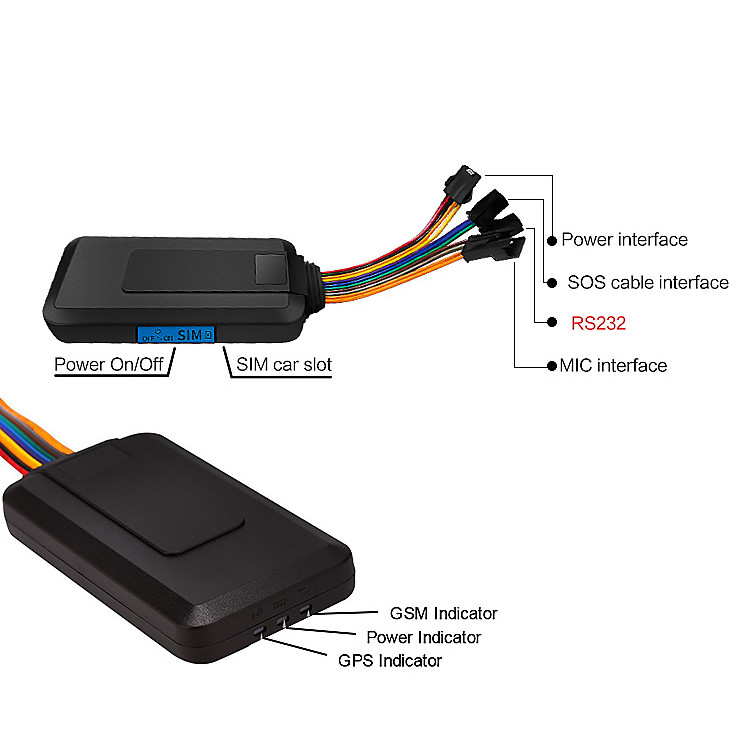 anti theft Fuel Monitoring and remotely engine stop 3 g car gps tracker tk 103 GPS103b 2g gps gprs car trackers