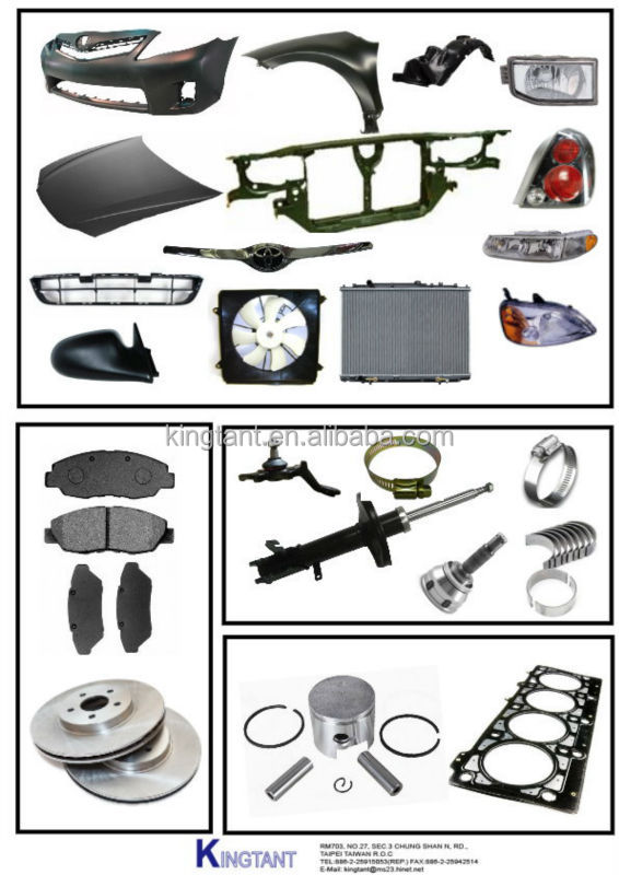 Auto spare parts for all model cars