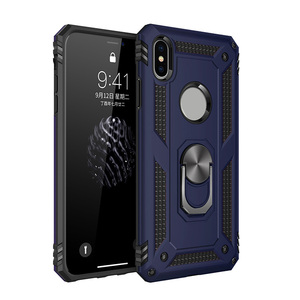 A021 2018 Hybrid 3 in 1 Shockproof for Iphone Xs Max XI PLUS 11 pro Case Cell Phone Case With Finger Ring Stand