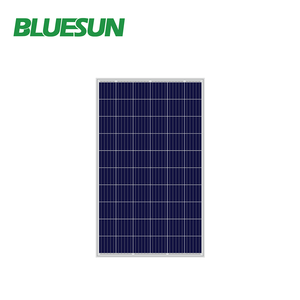 BLUESUN polykristallin poly 250w solar panel and battery with BEST price