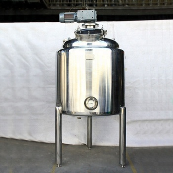 Steel Viscous Liquid Body cream making mixing machine