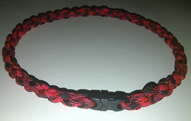 Modish Durable Paracord Rope Baseball Necklace /& Bracelet