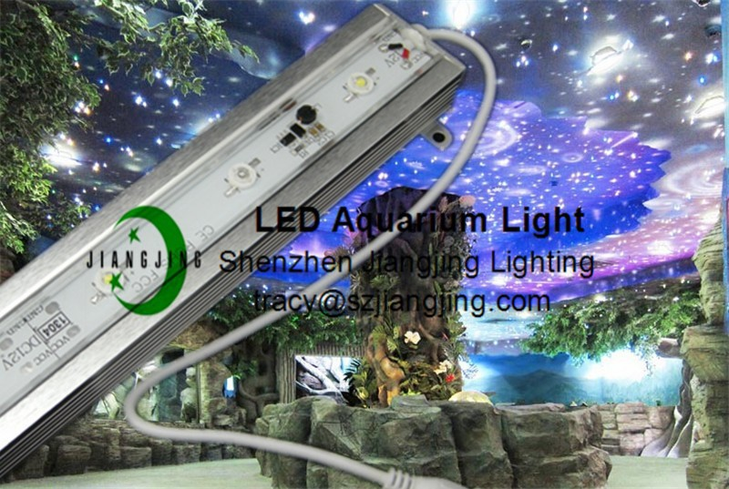 white 16000k IP68 waterproof led aquarium light with high quality