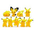 9 Pcs lot Pikachu Figures Toys Figure Toys Soft Stuffed Anime Cartoon Dolls Gifts for Kids