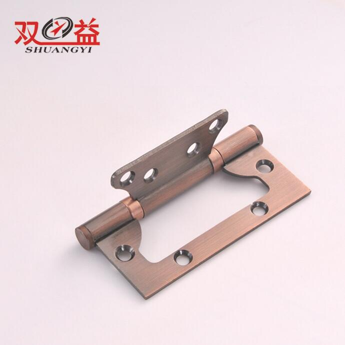 Alibaba Wholesale 360 Degree Furniture Flush Copper Color Iron Gate Hinges for Red Bronze Wooden DoorAlibaba Wholesale 360 Degre
