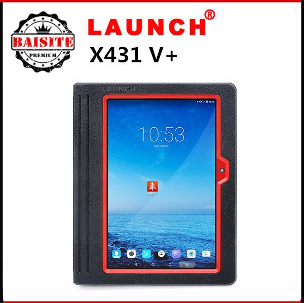 "2016New style 100% new Launch X431 V+ pro 3 with 10"" touch screen car diagnostic tool best Original diagnostic multi car scanner"
