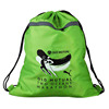 Manufacturers suppiler high quality cheap polyester large carrier drawstring bags with print LOGO