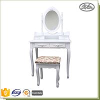 Modern Pine Furniture Mirror Dressing Table