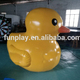 Hot Sale big shape yellow duck inflatable advertising animal figures inflatable cartoon characters