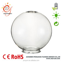 for outdoor lamp replacement round clear cloured plastic lamp shade