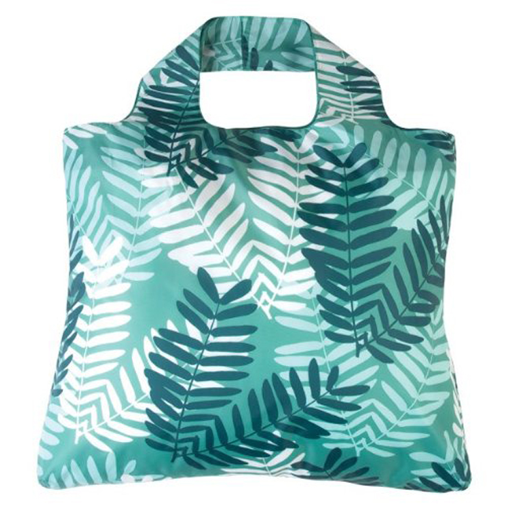 BSCI New Type Custom Floral Foldable Lightweight Seed <strong>Promotion</strong> Tote Bag Folding Shopping Bags