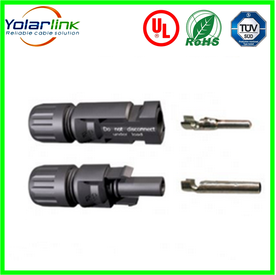 TUV IP67 MC4 Solar Connector Installation (Male+Female) 2.5/4/6/10 mm2 For Solar Panel /Solar Energy System