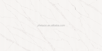 Calacatta Quartz Engineered Stones Slab Vein WG412