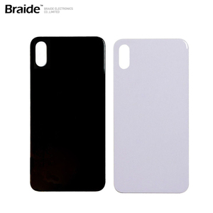 OEM quality Factory price rear housing glass battery cover back door for iphone X