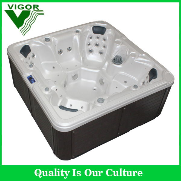 Factory full sizes spa pool,2017 hydro jet massage famaily hot tub