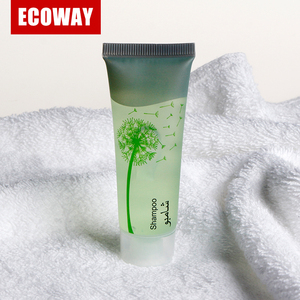 30ml shampoo for star hotel and clear empty tube for sale