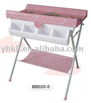 Wonderful Bath And Changing Table With Tub Stand
