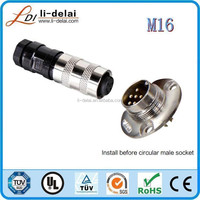 M16 male receptacle 26 pin connector