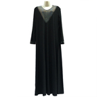 Fashion Design Abaya Kaftan Abaya Ajman Turkish Muslim Clothing in Stock