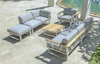 High Quality 316 Stainless Steel Outdoor Cruise Ship Furniture Sofa Jx L8026