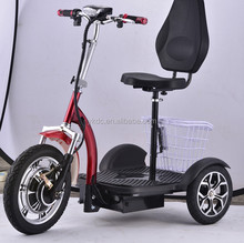Pieghevole anziani usano 3 ruote <span class=keywords><strong>elettrico</strong></span> mobility <span class=keywords><strong>scooter</strong></span>