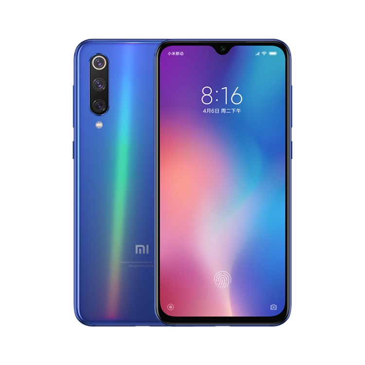 2019 newest design xiaomi mi9 128GB 48MP Triple Rear Cameras 6.39 inch Water-drop Screen MIUI 10 Qualcomm Snapdragon smartphone фото