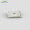 Wholesale price T001 led profile clear frosted, milky diffuser for led strip heatsink
