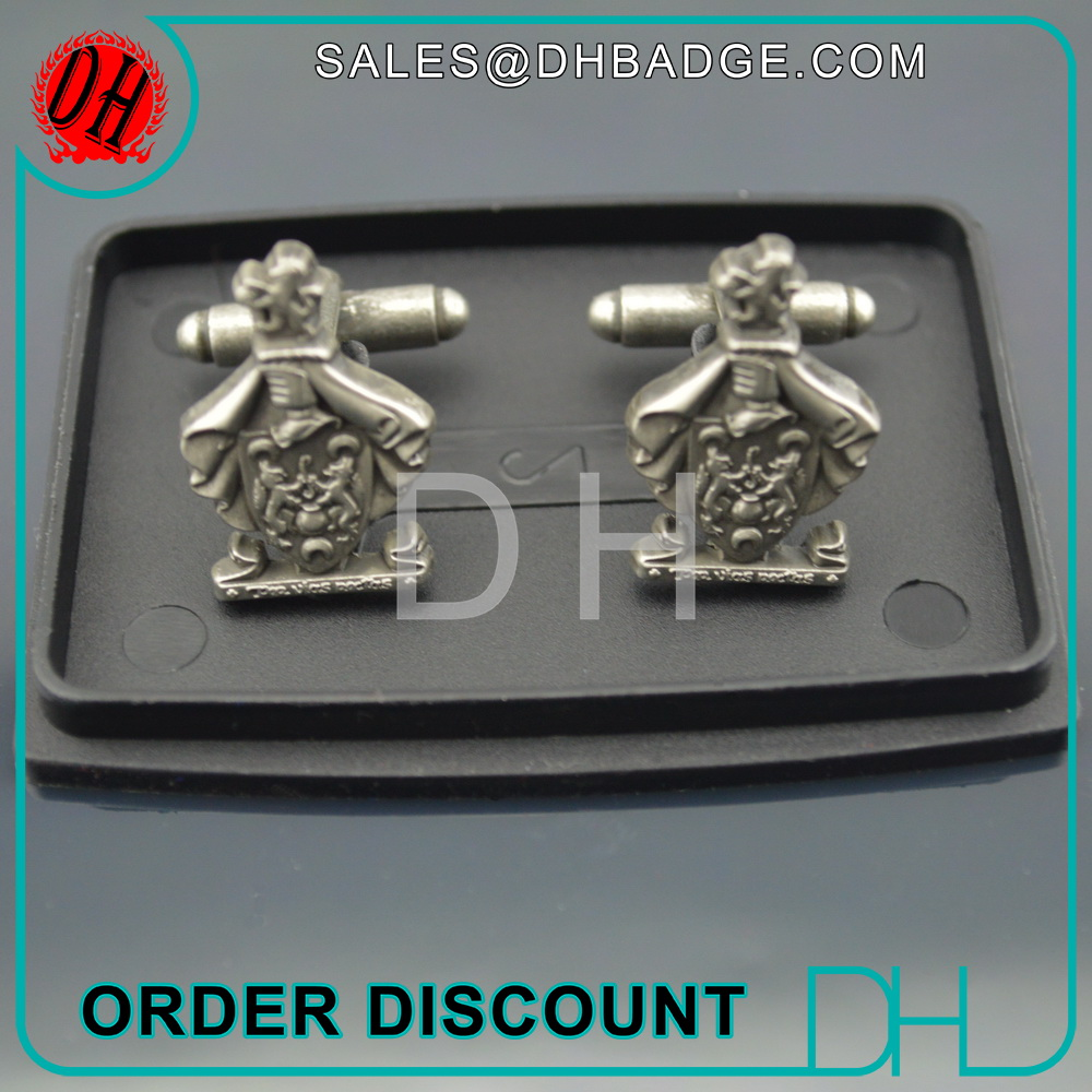 Factory OEM/ODM Cuff link make your own cufflinks Gift box