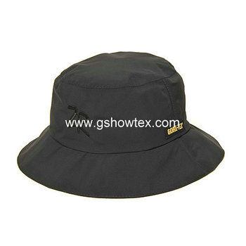 61944eb90f209a Black short brim bucket hat