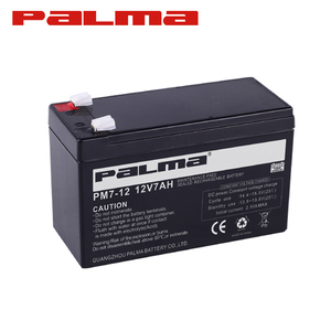Full Capacity Made In China Soft Pack Specifications ups 6fm7 12v 7ah 20hr battery