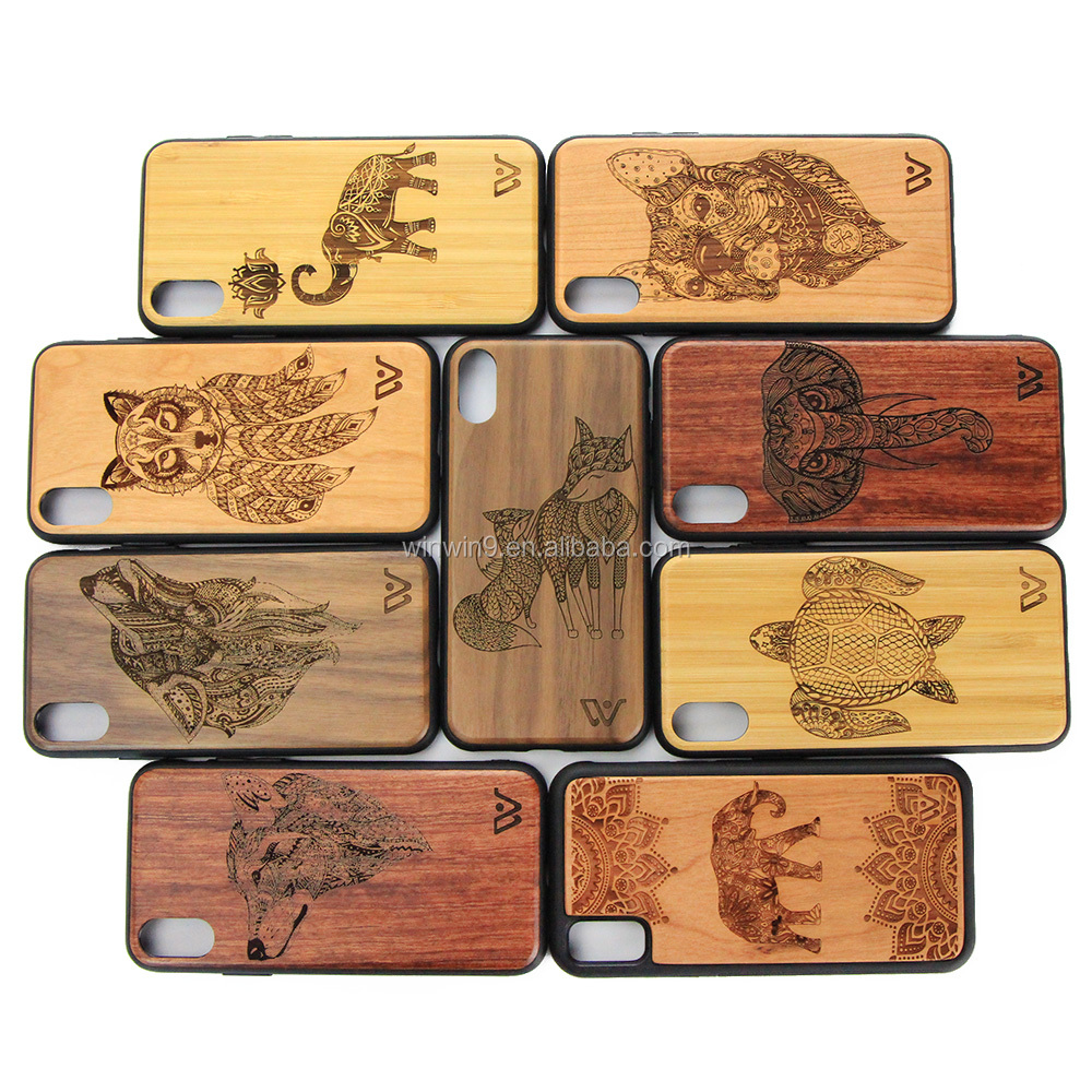 Blank Wooden Cell Phone Case Mobile Phone Accessories Mobile Phone Wood Case
