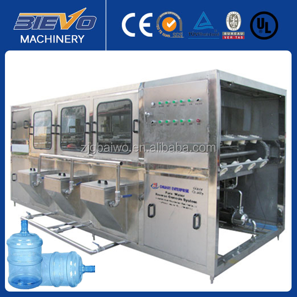 automatic 5 gallon bucket water bottling plant sale