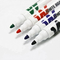 custom logo dry erasable Black Ink Whiteboard Marker Pen