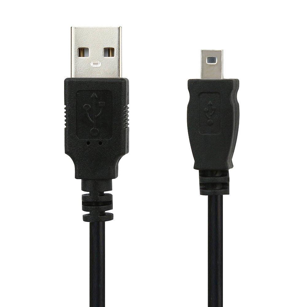 BIRUGEAR Digital Camera USB Data Cable Replacement UC-E6 - (8 Pin) for Nikon Df D7200 D5300 D3300 D5100 P7100 P7000 P330 P310 P300 Coolpix L120 L32 L31 S3700 S2900 S100 AW100 B500, J1 V1