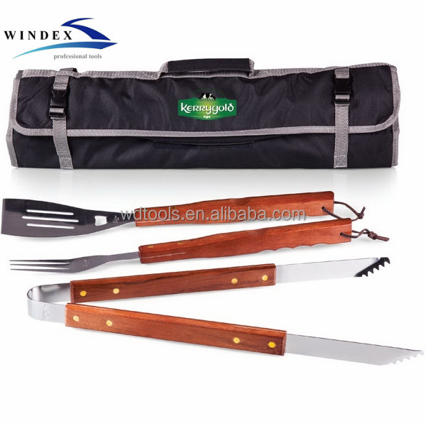 Barbeque Accessoires rvs Grillen Sets Metalen bbq tool set