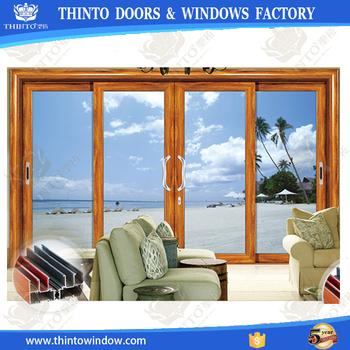 australie standard coulissante commerciale en aluminium cadre verre double porte d 39 entr e buy. Black Bedroom Furniture Sets. Home Design Ideas