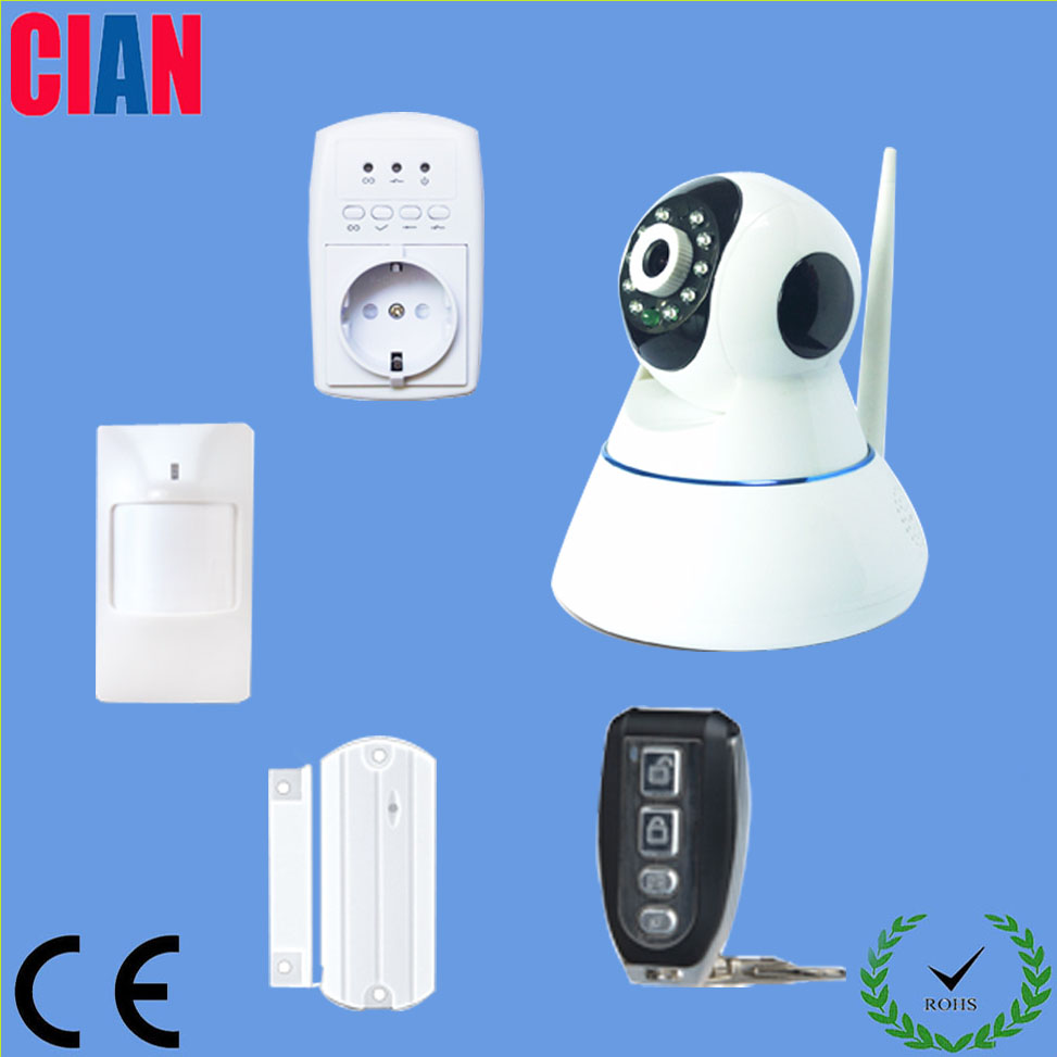 wholesale small home security honeywell alarm system