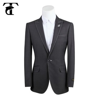 a09f93a9e7b Russian Style Men Formal Grey Business Suit - Buy Business Suit ...