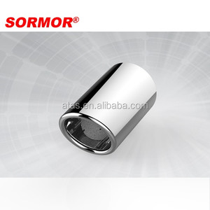 auto tuning stainless steel muffler tip exhaust for car