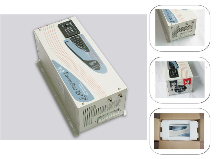 Power Star 7 Low frequency pure sine wave 6000watt 12v 24v 48V 220v power inverter with charger