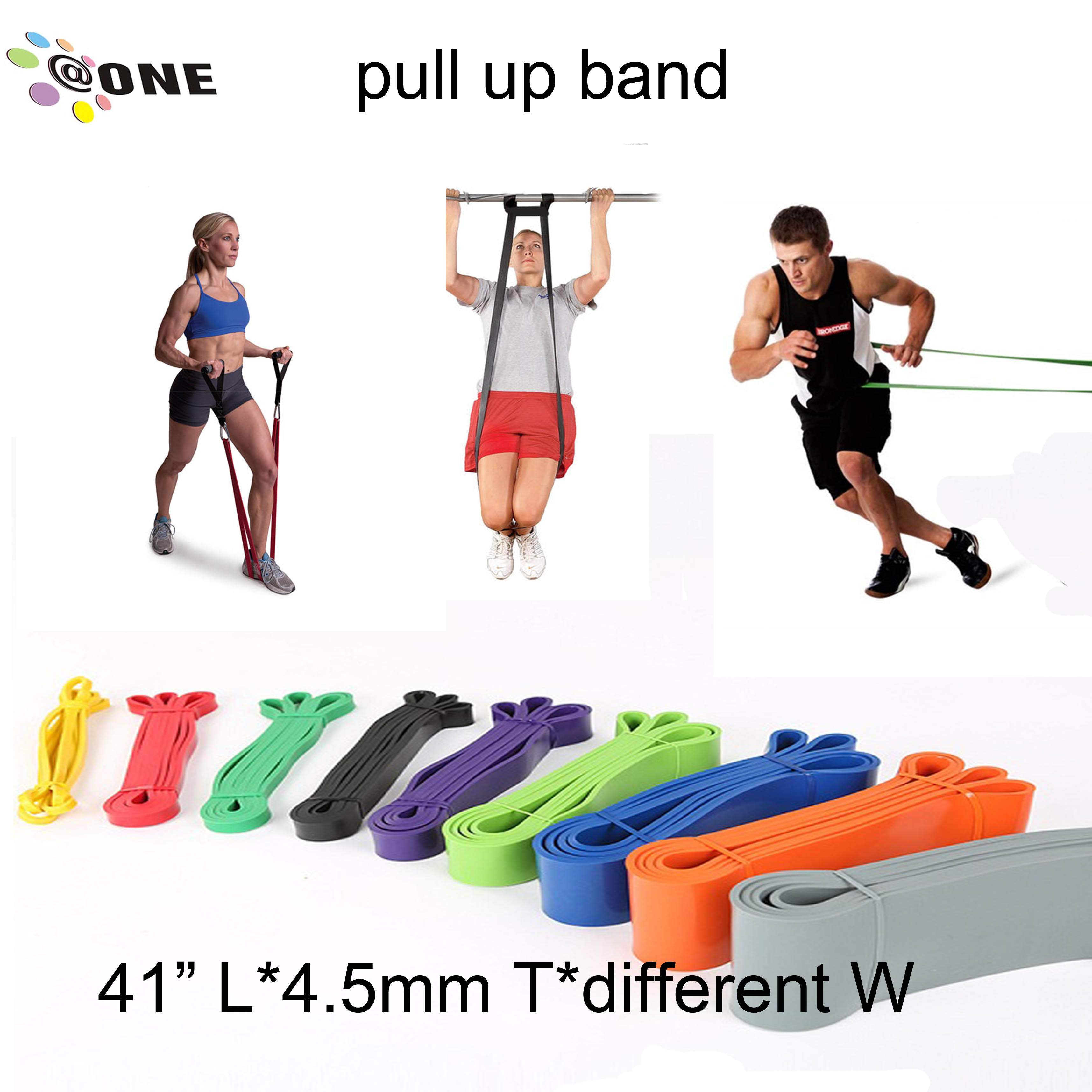 Colorful Aerobic Accessories Resistance Loop Band A-PB32 Fitness Equipment Used Home GYM Equipment Sale Useful Equipment