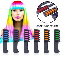 6PCS/SET Mini Disposable Personal Salon Use Hair Dye Comb Professional Crayons For Color Chalk Dyeing Tool