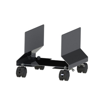 Width Adjustable plastic CPU stand with wheel