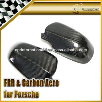 Carbon Fiber Side Mirror Cover For Porsche Cayenne 958