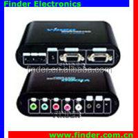 Good quality products VGA to YPbPr/AV converter, one converter for av