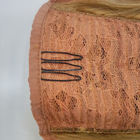 Double Drawn 100% Human Remy Hair clip ponytails