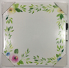 Cute flower frame house decor kids dry erasable writing white board